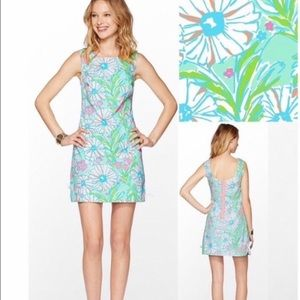 Lilly Pulitzer Delia Dress Splish Splash  Size 0